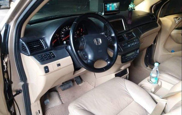Gia đình bán Honda Odyssey đời 2007, màu vàng, nhập khẩu5