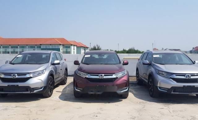 Cần bán lại xe Honda CR V sản xuất 2019, màu bạc, nhập khẩu nguyên chiếc1