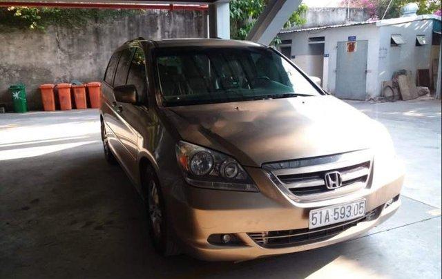 Gia đình bán Honda Odyssey đời 2007, màu vàng, nhập khẩu0