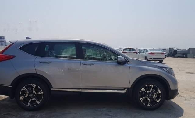 Cần bán lại xe Honda CR V sản xuất 2019, màu bạc, nhập khẩu nguyên chiếc0