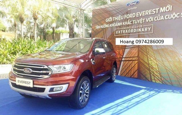 An Đô Ford bán Ford Everest Tianium 2019 đủ các bản đủ màu giao ngay, giá tốt trả góp cao, LH 09742860091