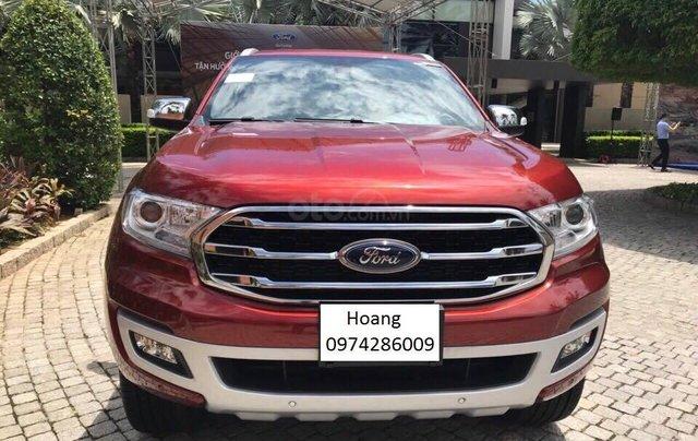 An Đô Ford bán Ford Everest Tianium 2019 đủ các bản đủ màu giao ngay, giá tốt trả góp cao, LH 09742860090