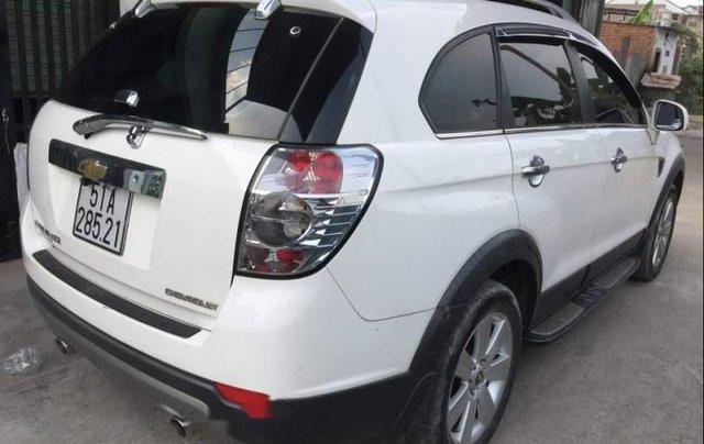 Cần bán lại xe Chevrolet Captiva đời 2012, màu trắng số tự động, 430 triệu0