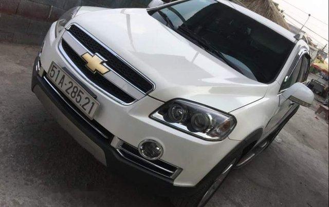 Cần bán lại xe Chevrolet Captiva đời 2012, màu trắng số tự động, 430 triệu5