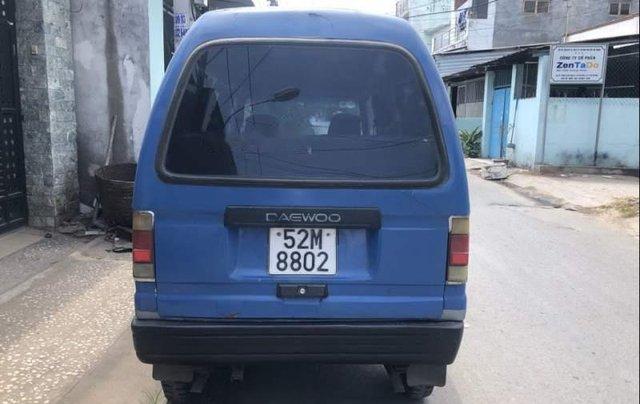 Cần bán gấp Daewoo Damas năm sản xuất 1991, màu xanh lam, 40 triệu5