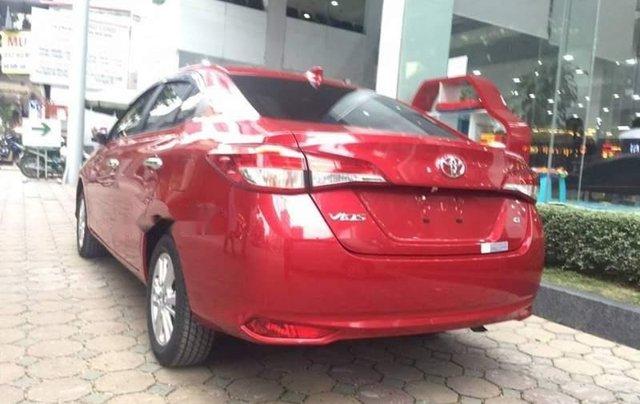 Bán xe Toyota Vios sản xuất năm 2019, màu đỏ2