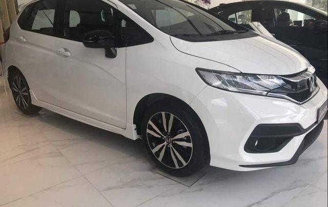 Bán xe Honda Jazz 2019, màu trắng, xe nhập. Ưu đãi hấp dẫn0