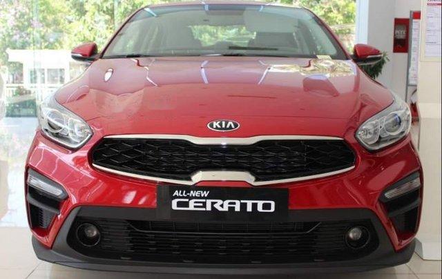 Bán Kia Cerato đời 2019, màu đỏ. Ưu đãi hấp dẫn0