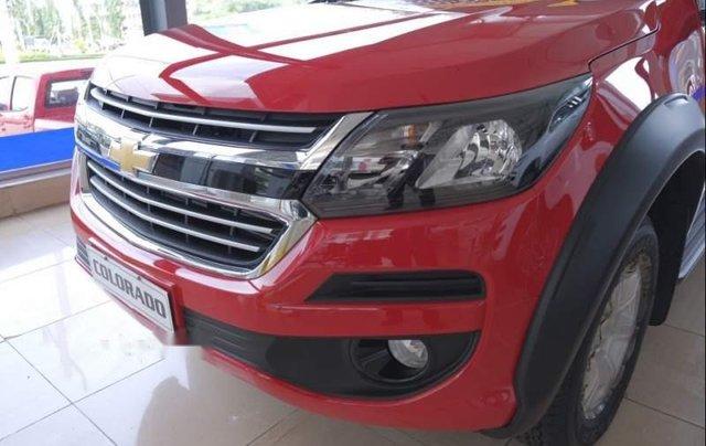 Bán xe Chevrolet Colorado sản xuất 2019, màu đỏ, nhập khẩu nguyên chiếc, giá tốt4