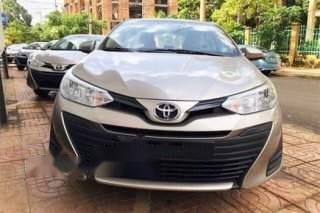 Bán Toyota Vios sản xuất 2019, màu vàng cát, ưu đãi hấp dẫn2