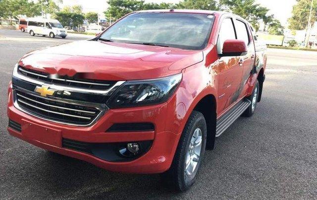 Bán xe Chevrolet Colorado sản xuất 2019, màu đỏ, nhập khẩu nguyên chiếc, giá tốt2
