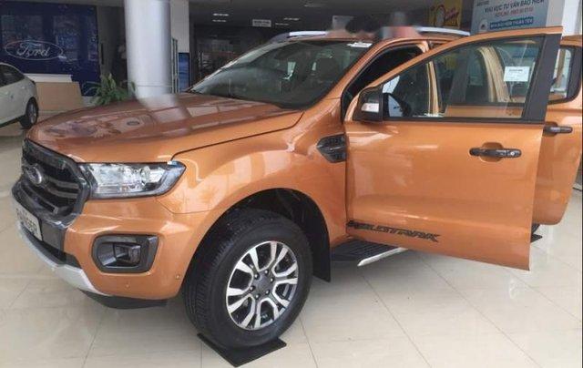 Bán Ford Ranger năm sản xuất 2018, màu nâu, nhập khẩu2
