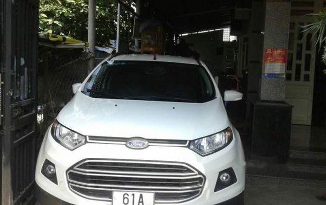 Bán Ford EcoSport năm sản xuất 2016, màu trắng, nhập khẩu nguyên chiếc số sàn0