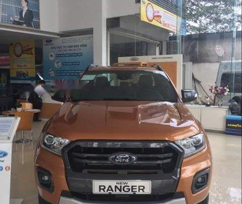 Bán Ford Ranger năm sản xuất 2018, màu nâu, nhập khẩu0