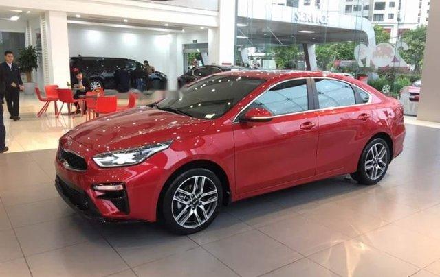 Bán xe Kia Cerato AT đời 2019, màu đỏ0