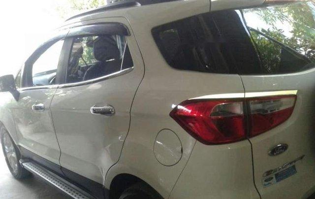 Bán Ford EcoSport năm sản xuất 2016, màu trắng, nhập khẩu nguyên chiếc số sàn1