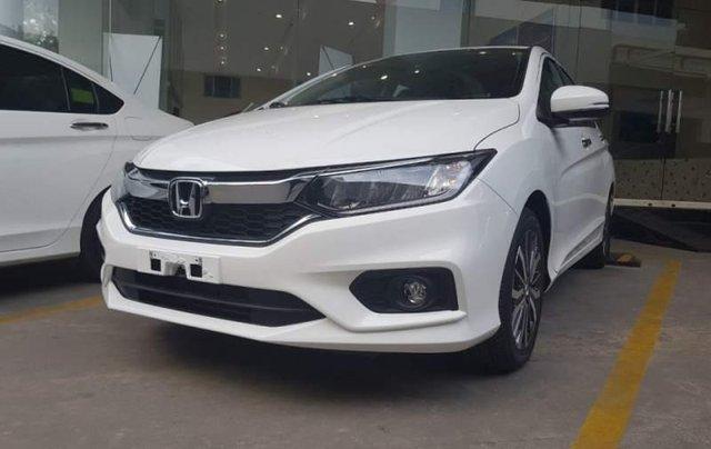 Cần bán Honda City 1.5 TOP sản xuất 2019, màu trắng, 599 triệu1
