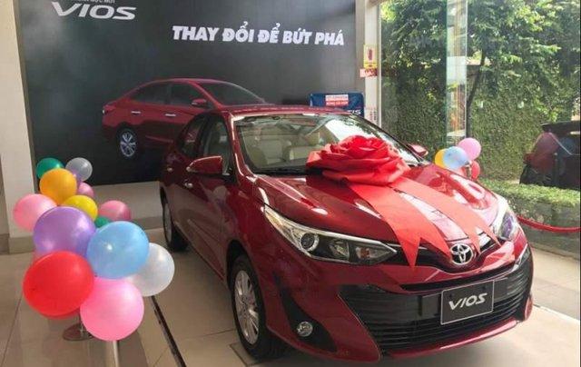 Bán xe Toyota Vios 1.5G sản xuất năm 2019, màu đỏ1