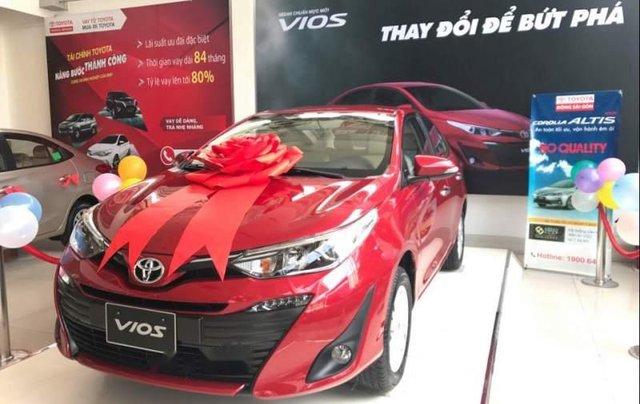 Bán xe Toyota Vios 1.5G sản xuất năm 2019, màu đỏ2