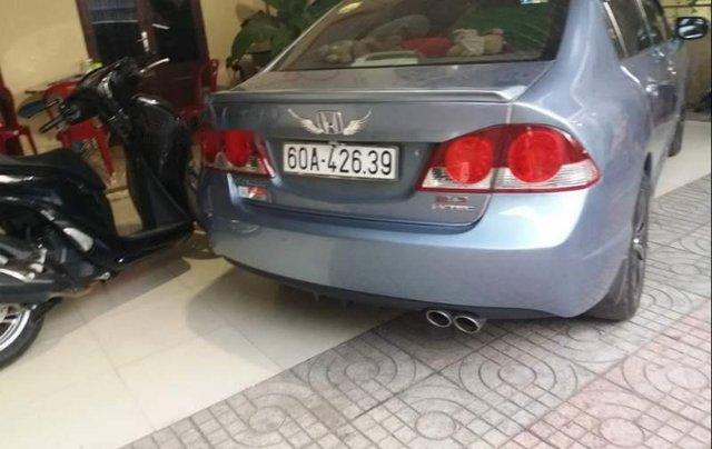 Bán Honda Civic đời 2007, màu xanh lam, nhập khẩu, 334 triệu1