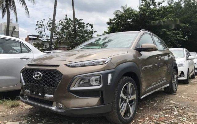 Bán xe Hyundai Kona 2019, màu nâu, 730 triệu1