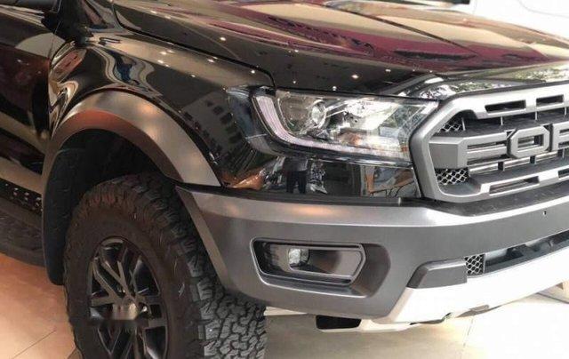 Bán Ford Ranger Raptor sản xuất năm 2018, màu đen, xe nhập1