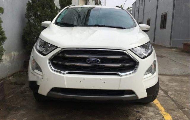 Bán xe Ford EcoSport 2019, màu trắng, mới hoàn toàn0
