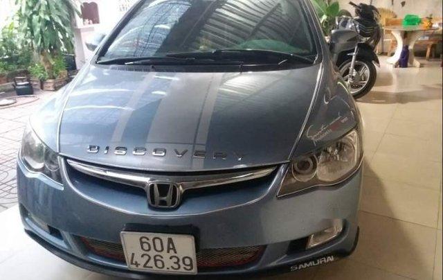Bán Honda Civic đời 2007, màu xanh lam, nhập khẩu, 334 triệu0