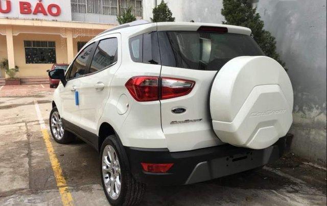 Bán xe Ford EcoSport 2019, màu trắng, mới hoàn toàn2