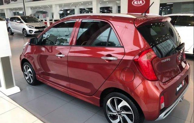 Bán ô tô Kia Morning đời 2019, màu đỏ. Ưu đãi hấp dẫn0