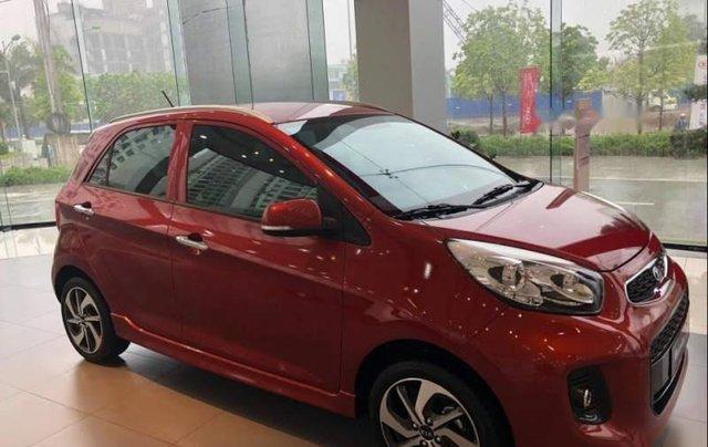Bán ô tô Kia Morning đời 2019, màu đỏ. Ưu đãi hấp dẫn1