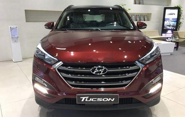 Bán Hyundai Tucson đời 2019, màu đỏ, ưu đãi hấp dẫn1