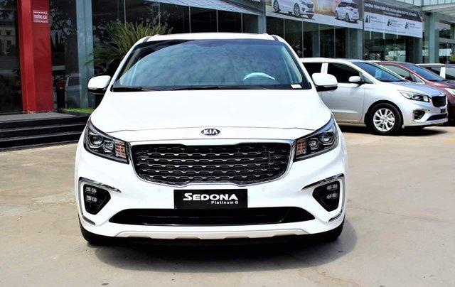 [Kia Bình Triệu] Kia Sedona 2.2L Luxury, Platinum D 2019, ưu đãi khủng, trả trước 20% nhận xe ngay, LH 09397010390
