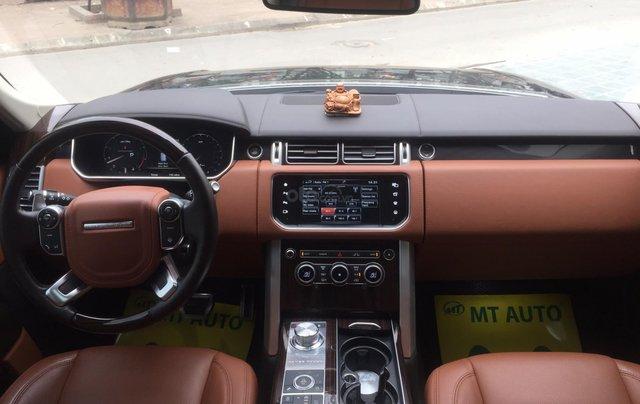 Cần bán xe LandRover Range Rover SV Autobiography model 2016, màu đen, xe cực chất, odo zin 10.000km4