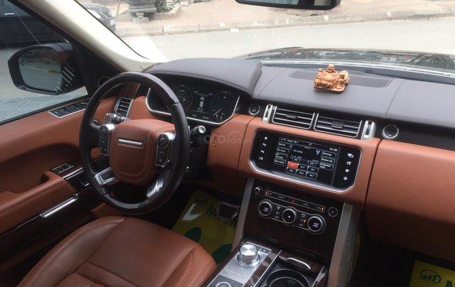 Cần bán xe LandRover Range Rover SV Autobiography model 2016, màu đen, xe cực chất, odo zin 10.000km7