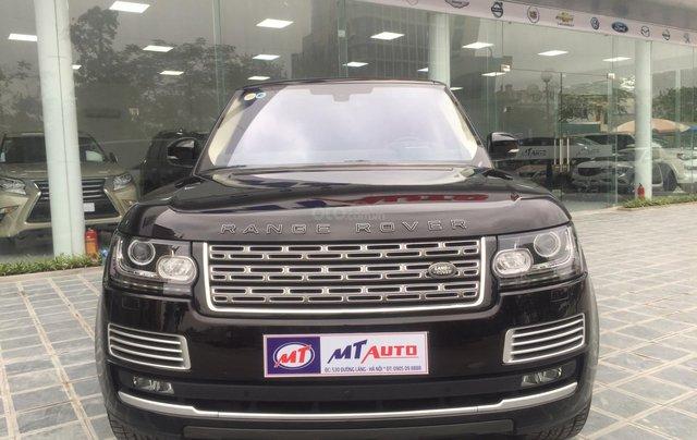 Cần bán xe LandRover Range Rover SV Autobiography model 2016, màu đen, xe cực chất, odo zin 10.000km0