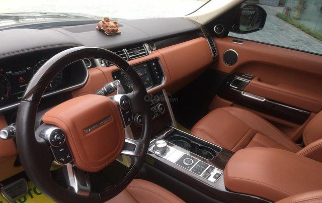 Cần bán xe LandRover Range Rover SV Autobiography model 2016, màu đen, xe cực chất, odo zin 10.000km19