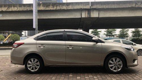 Bán Toyota Vios 1.5 AT đời 2016, màu vàng, giá 525tr1