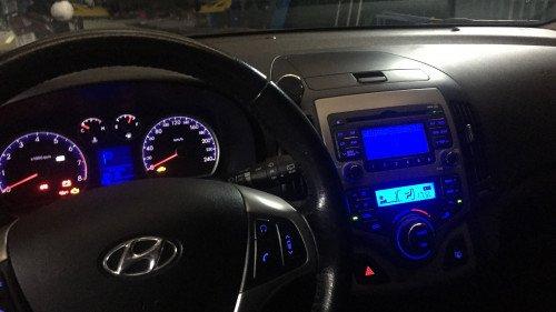 Bán xe cũ Hyundai i30 1.6AT sản xuất năm 2009, màu xám4