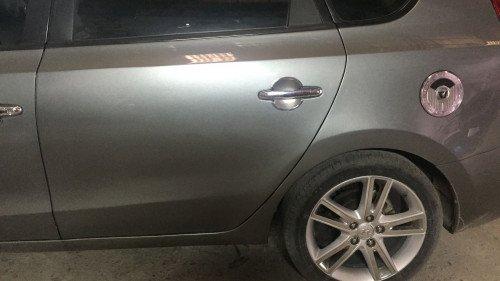 Bán xe cũ Hyundai i30 1.6AT sản xuất năm 2009, màu xám1