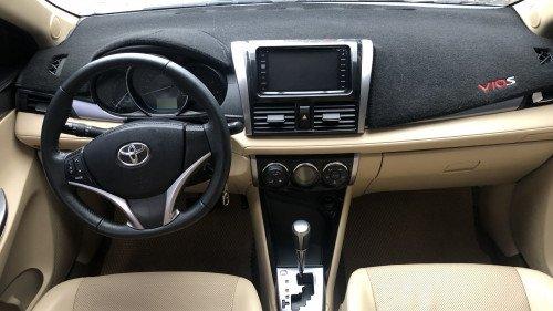 Bán Toyota Vios 1.5 AT đời 2016, màu vàng, giá 525tr6