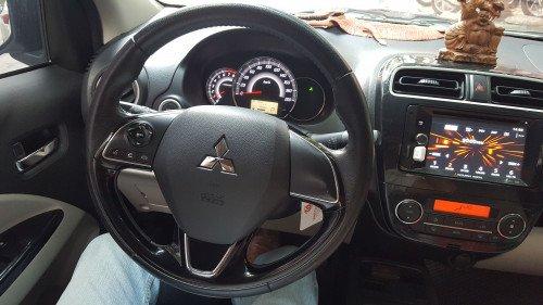 Bán xe Mitsubishi Attrage 1.2 AT đời 2017, màu trắng, nhập khẩu3
