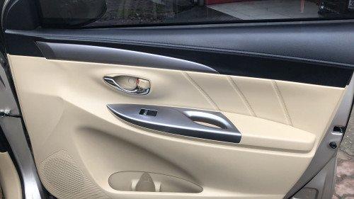 Bán Toyota Vios 1.5 AT đời 2016, màu vàng, giá 525tr9