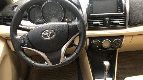 Bán Toyota Vios 1.5 AT đời 2016, màu vàng, giá 525tr7