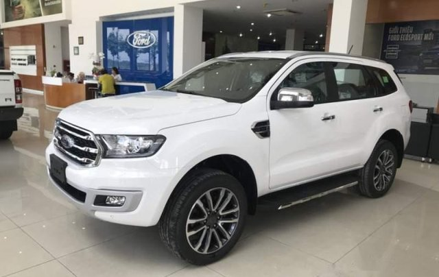 Bán xe Ford Everest đời 2018, màu trắng, nhập khẩu nguyên chiếc 0