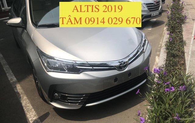 Bán Toyota Altis 2019 all new, chỉ cần 220tr nhận xe ngay - LH 0914 029 670 (Tâm)0