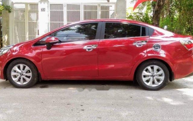 Cần bán lại xe Kia Rio đời 2015, màu đỏ, nhập khẩu nguyên chiếc còn mới0