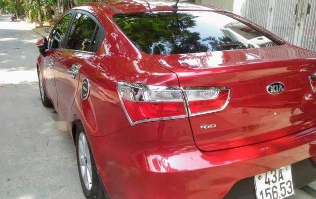 Cần bán lại xe Kia Rio đời 2015, màu đỏ, nhập khẩu nguyên chiếc còn mới2