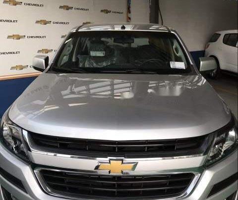 Cần bán xe Chevrolet Trailblazer LT MT 4x2 sản xuất 2019, màu bạc, nhập khẩu0