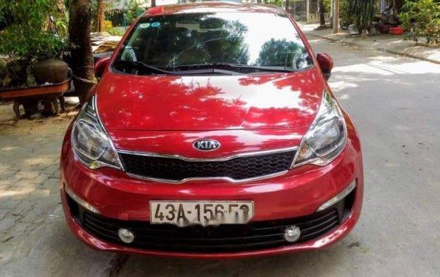 Cần bán lại xe Kia Rio đời 2015, màu đỏ, nhập khẩu nguyên chiếc còn mới1